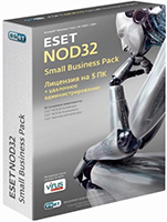 ESET NOD32 Small Business Pac